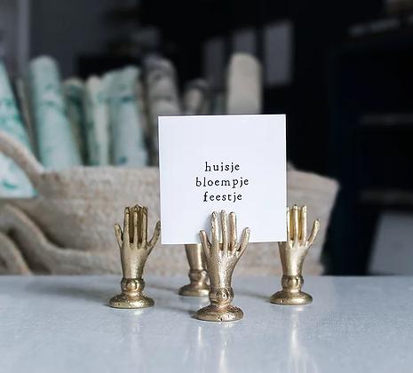 IKPAKJEIN (NL) - Mini Postcard Huisje bloempje feestje