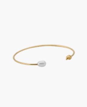 ANNA+NINA - Flame pearl cuff gold
