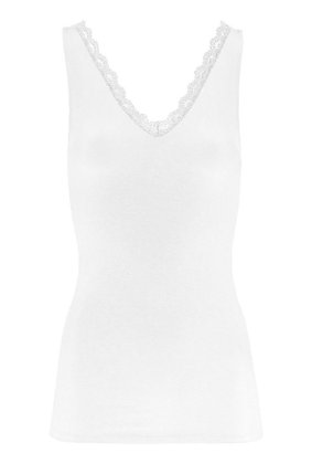 By-Bar - Lace singlet white