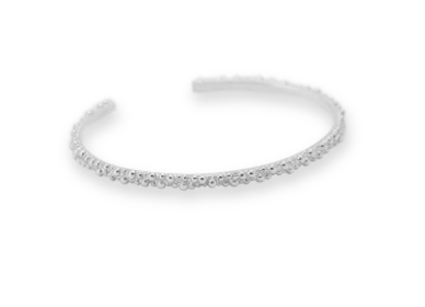 ANNA+NINA - Cluster cuff silver