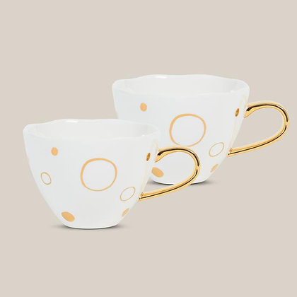 URBAN NATURE CULTURE - Goodmorning Cup Circle gold s/2