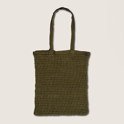 URBAN NATURE CULTURE - Bag shopper Fashion green