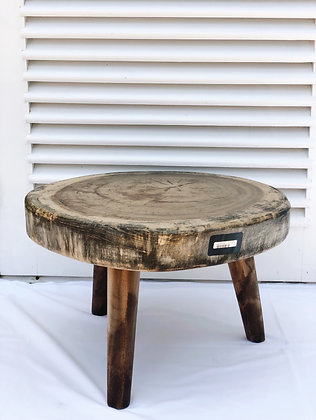 Round SideTable L Ibiza style