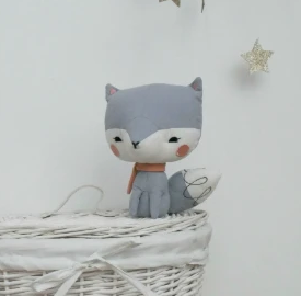 PICCA LOULOU - Fox in gift box