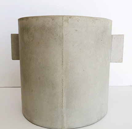 Concrete plant pot - 30cm