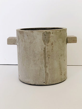 Concrete plant pot - 15cm