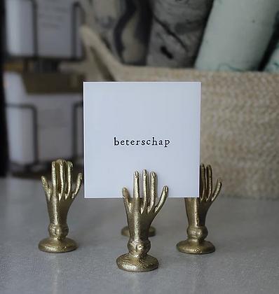 IKPAKJEIN (NL) - Mini Postcard Beterschap