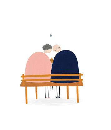 KLEIN LIEFS (NL) - Postcard Love koppel