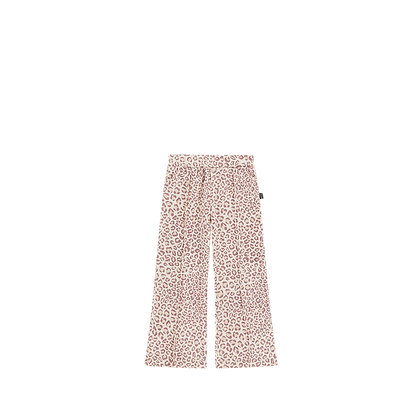 HOUSE OF JAMIE - Flared pants leopard