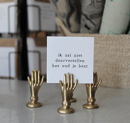 IKPAKJEIN (NL) - Mini Postcard Ik zal niet doorvertellen hoe oud je bent