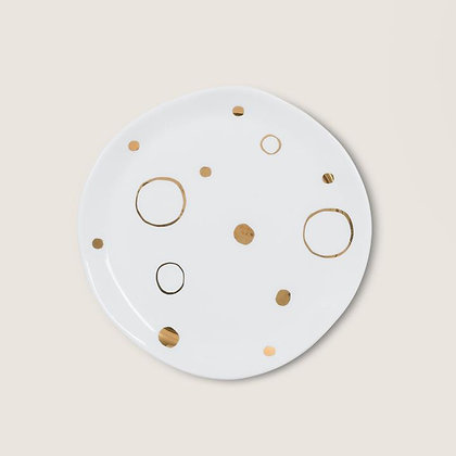 URBAN NATURE CULTURE - Plate goodmorning circle gold