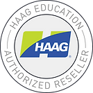 Authorized Reseller Logo (Haag EDU logo)
