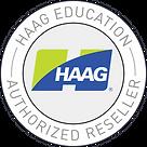 Authorized Reseller Logo (Haag EDU logo)