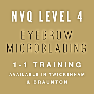 NVQ Level 4 Eyebrow Microblading Training