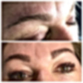 eyebrow shape and eyebrow tint