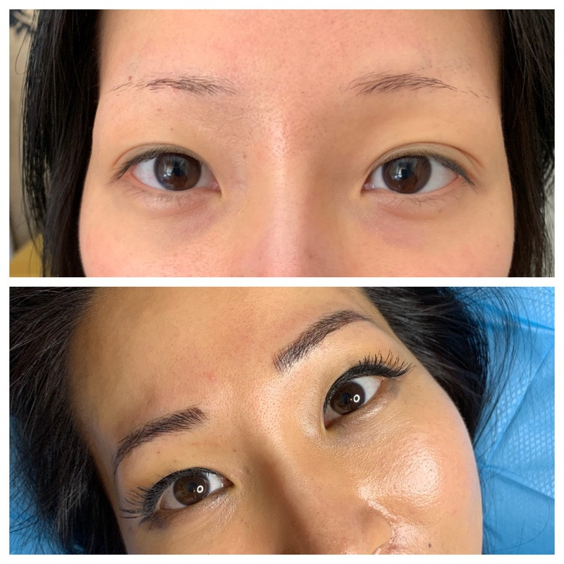 Framing Eyes with  Brows