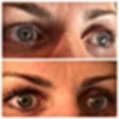 Eyelash lift using Elleebana