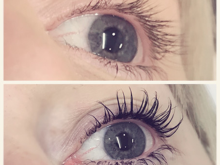 Lift your Lashes with a one-shot Lash Lift & Tint that lasts for up to 12 weeks.