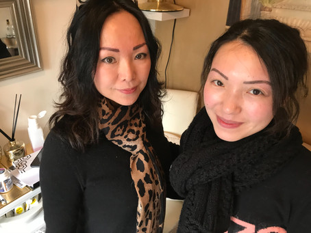 Eyebrows aren't twins they are sisters.  Sisters with beautiful brows.