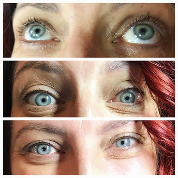 Lash enhancement eyeliner permanent