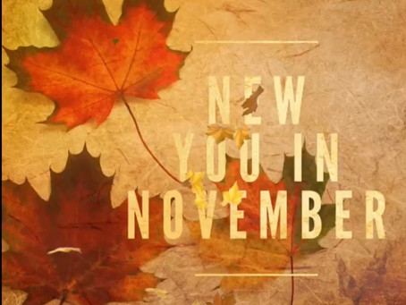 New you in November 🍂