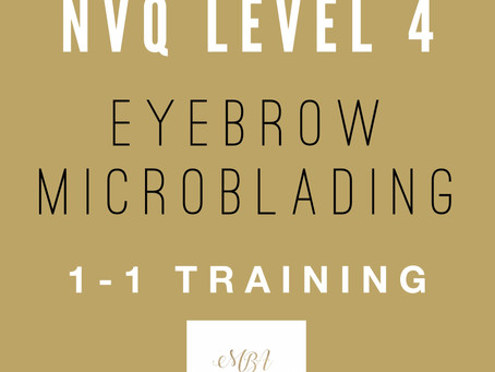 NVQ Level 4 Eyebrow Microblading Course