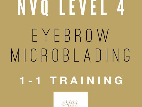 NVQ Level 4 Eyebrow Microblading Course