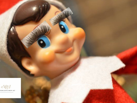 Elf's all ready to flutter those lashes 😉
