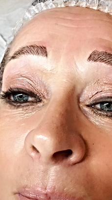 Microblading UK Eyebrows After in Barnstaple and Twickenham