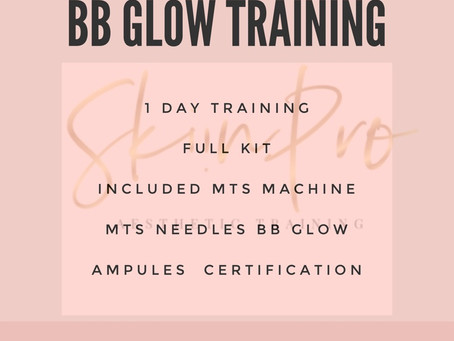 New! BB Glow Training