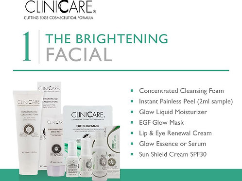 The Brightening Facial - Full Glow Package