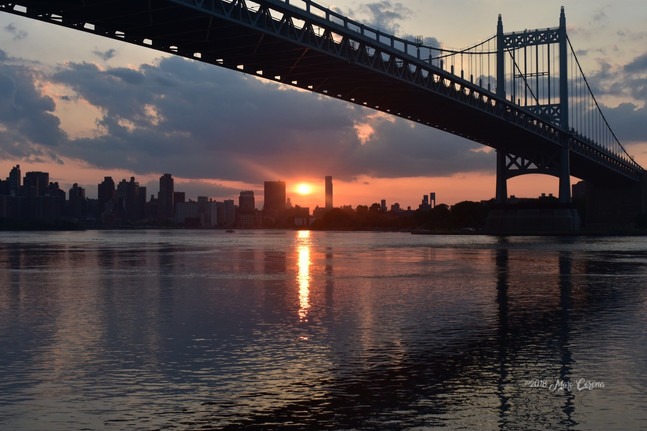 TriBorough Sunset
