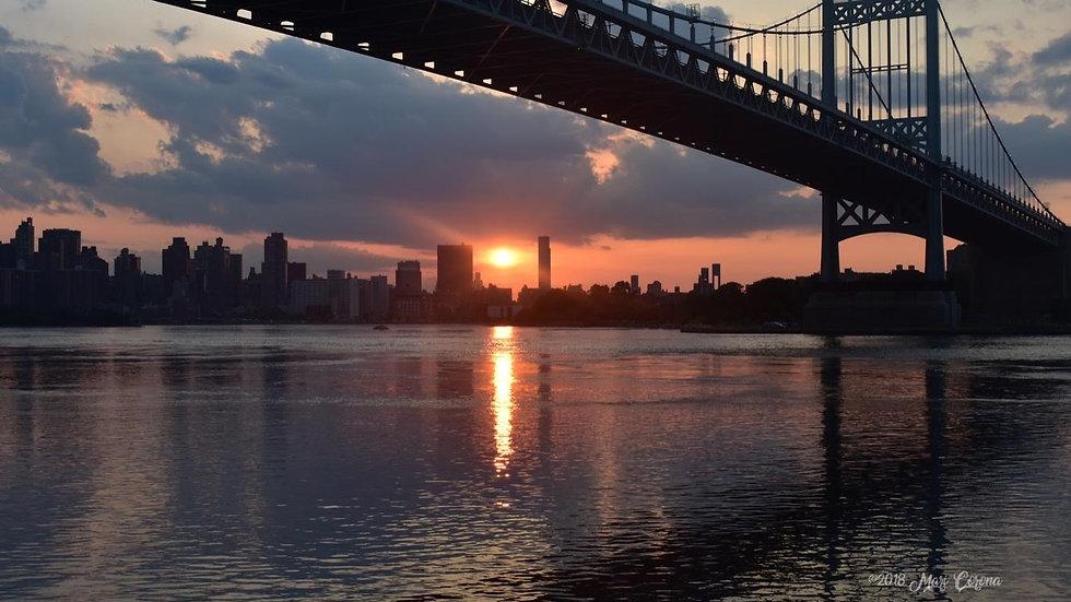 Tri-Borough Sunset