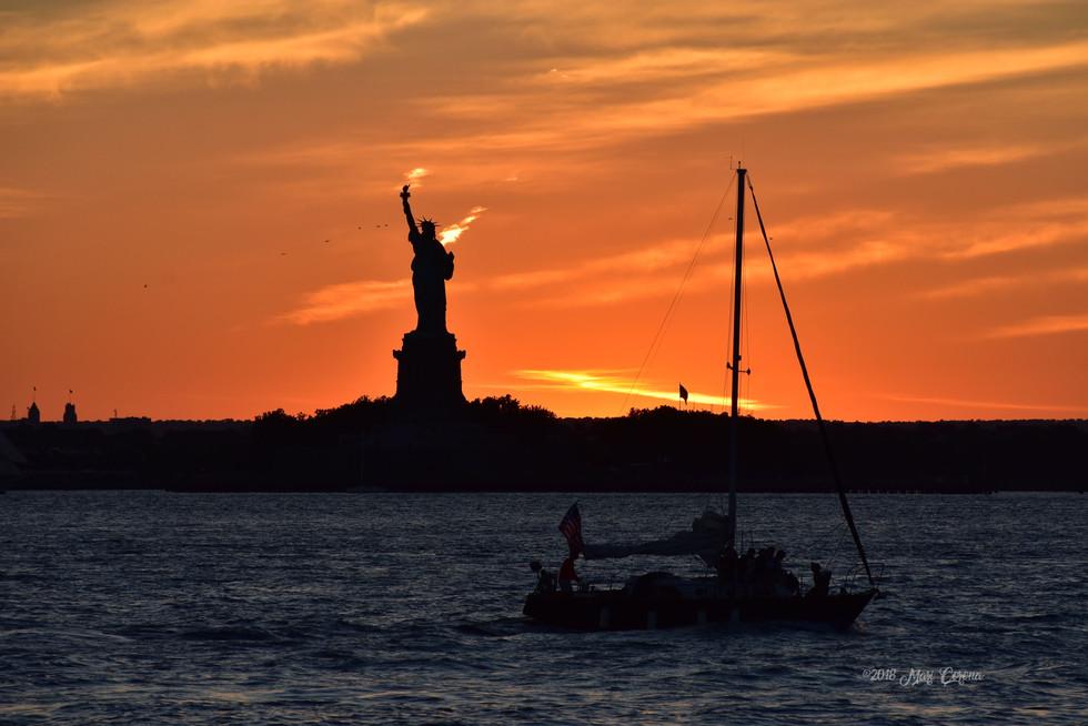 Sunset Sails