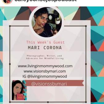 Tia Maria Podcast Healing through Arts chat