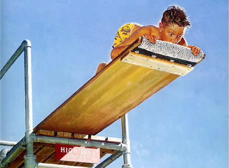 At the End of the Diving Board