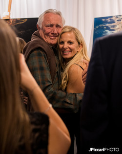 George Lazenby with Gisele Lubsen