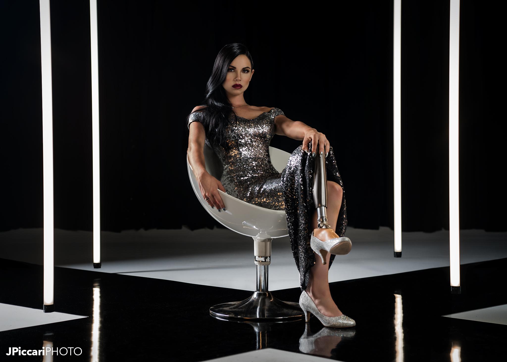 Xoe Xapoian wears Dalia MacPhee