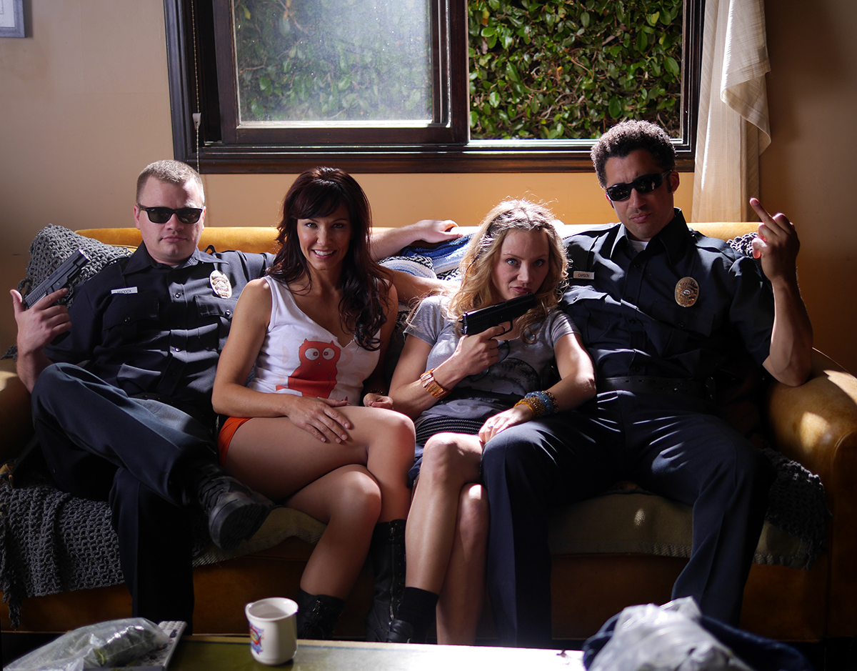 """BTS Still from """"The Jane Project"""""""