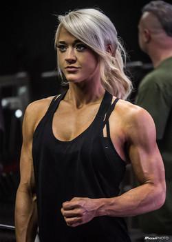 NFC Competitor Christina Blair