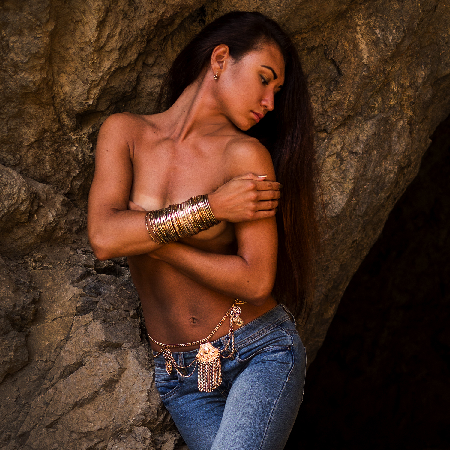 Jeans and Jewelry - Dinara Ainabekov