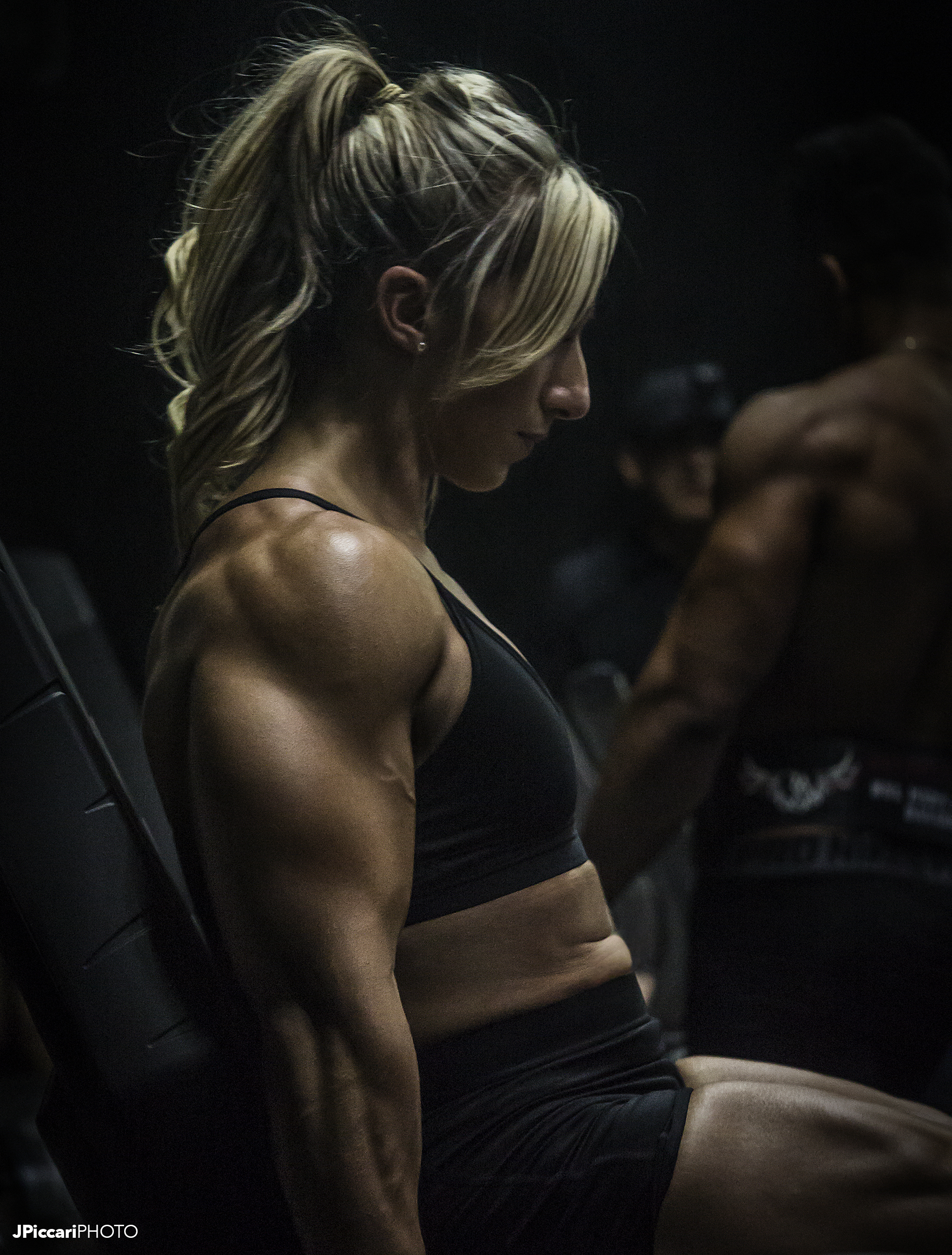 Powerlifter Shannon Courtney