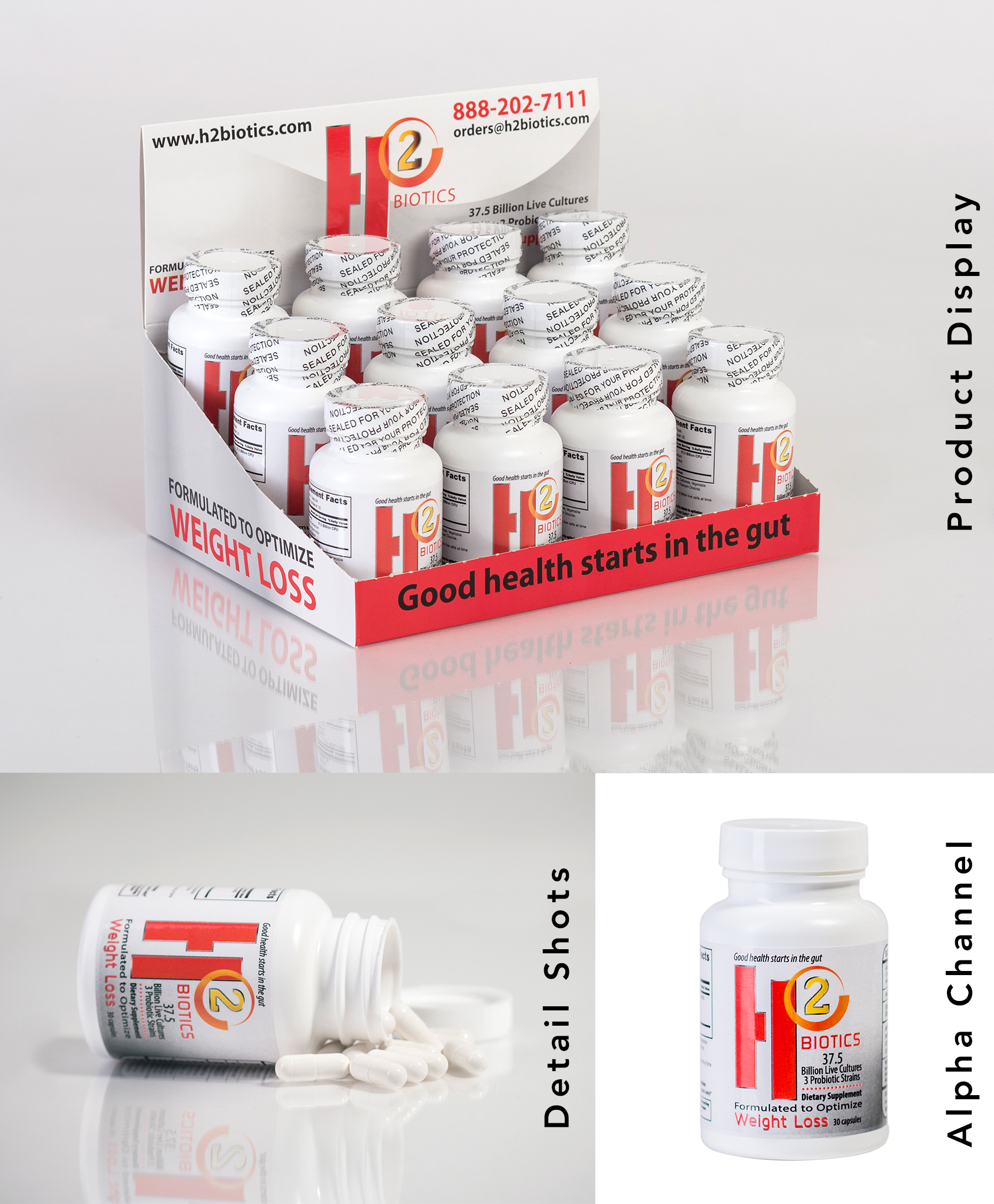 Product Shots for H2 Biotics