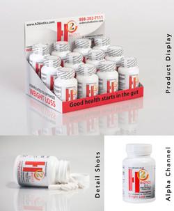 Product Shots for H2 Biotics