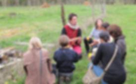 Mes premiers groupes d'enfants au jardin