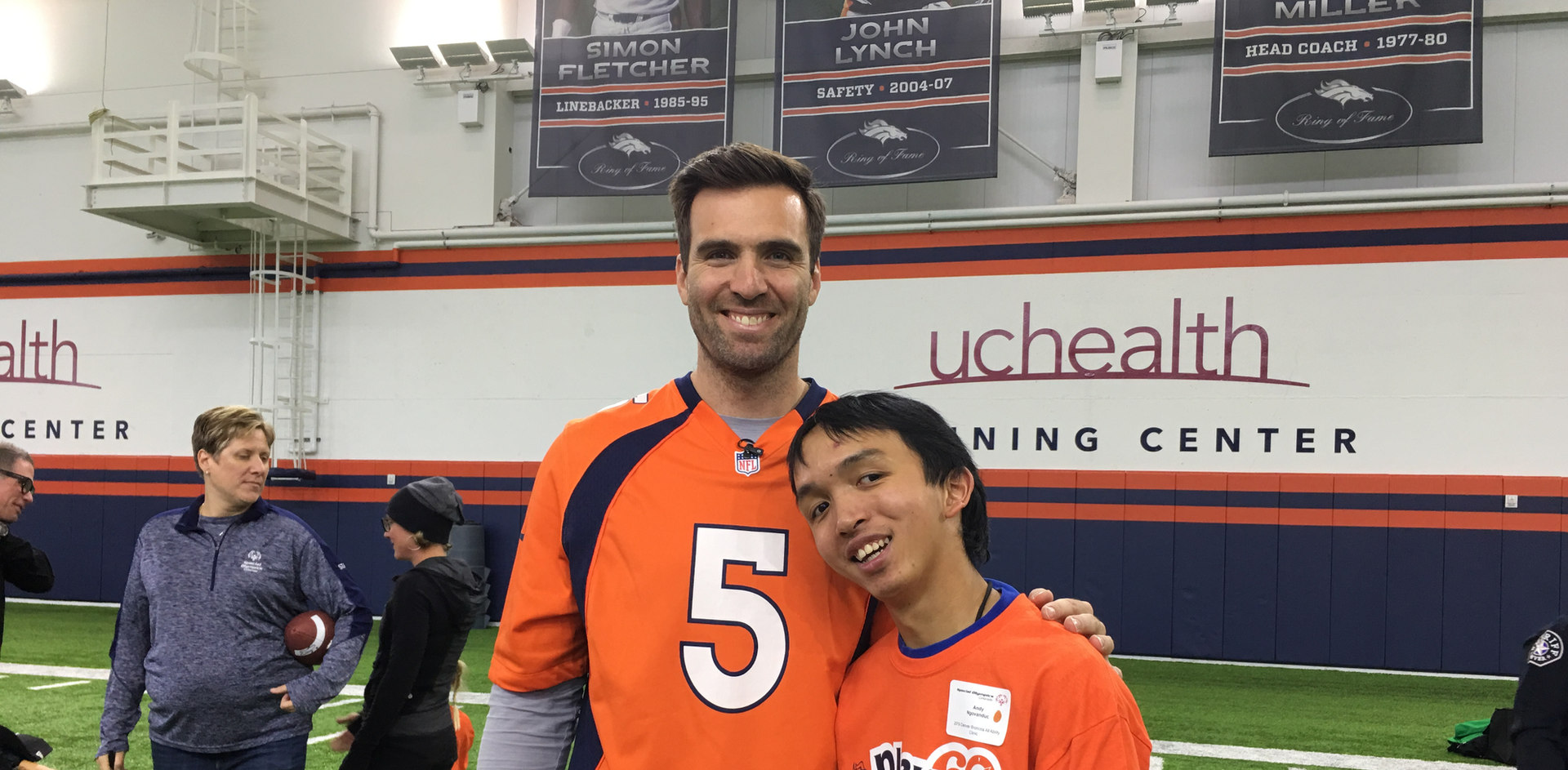 Broncos Clinic & Special Olympics