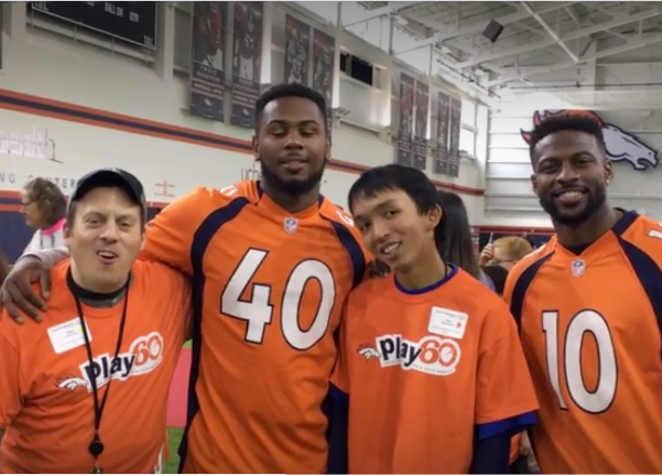 Bronco Clinic & Special Olympics