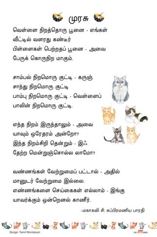வெள்ளை நிறத்தொரு பூனை / Vellai Nirathoru Poonai