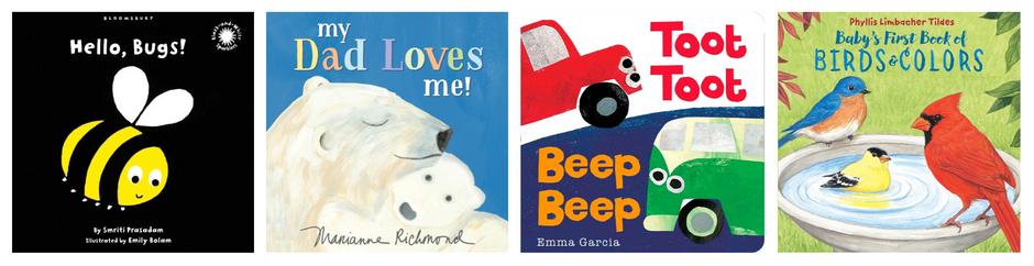 Baby friendly books