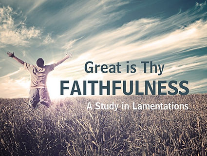 Great Is Thy Faithfulness Sermon Logo 20